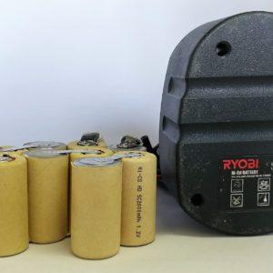 Repacked Ryobi Drill Battery