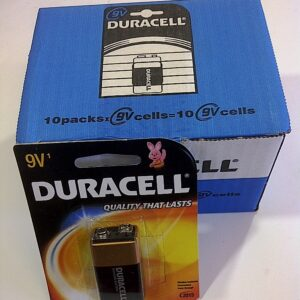 Duracell:9v  BP-1 MN1600 (50 cds)