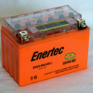 Enertec YTX9-BS GEL Motorcycle battery