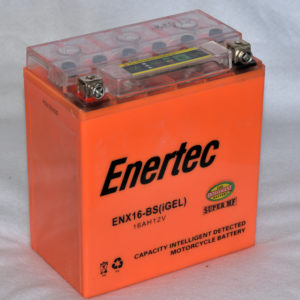 Enertec YTX16-BS GEL Motorcycle battery