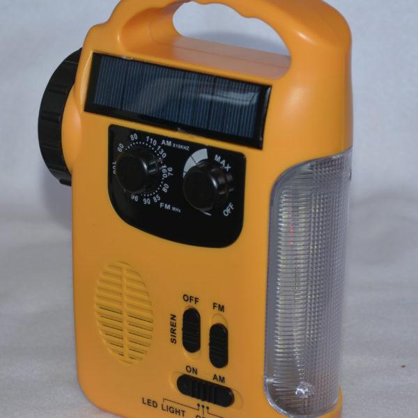 Solar Lantern with Radio