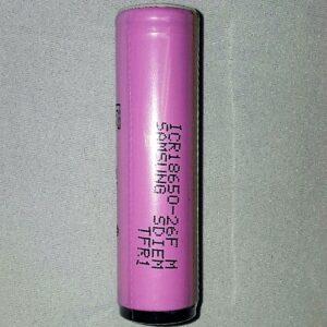 Samsung ICR-18650 PCM 2600mAh