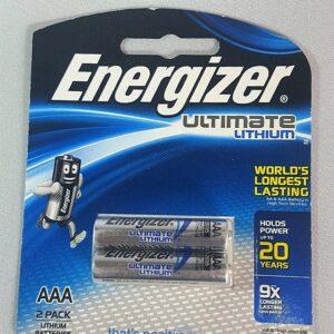 AAA Energizer 1.5v Lithium BP-2