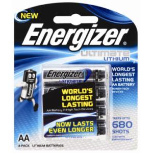 Lithium Energizer Batteries