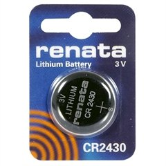 Renata 3V Lithium Battery CR2430