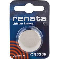 Renata 3V Lithium Battery CR2325