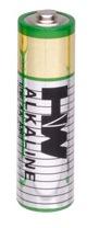 Alkaline AA Hi Watt Bulk