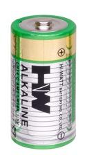 Alkaline C Hi Watt Bulk