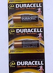 Duracell AA  BP-6 MN1500