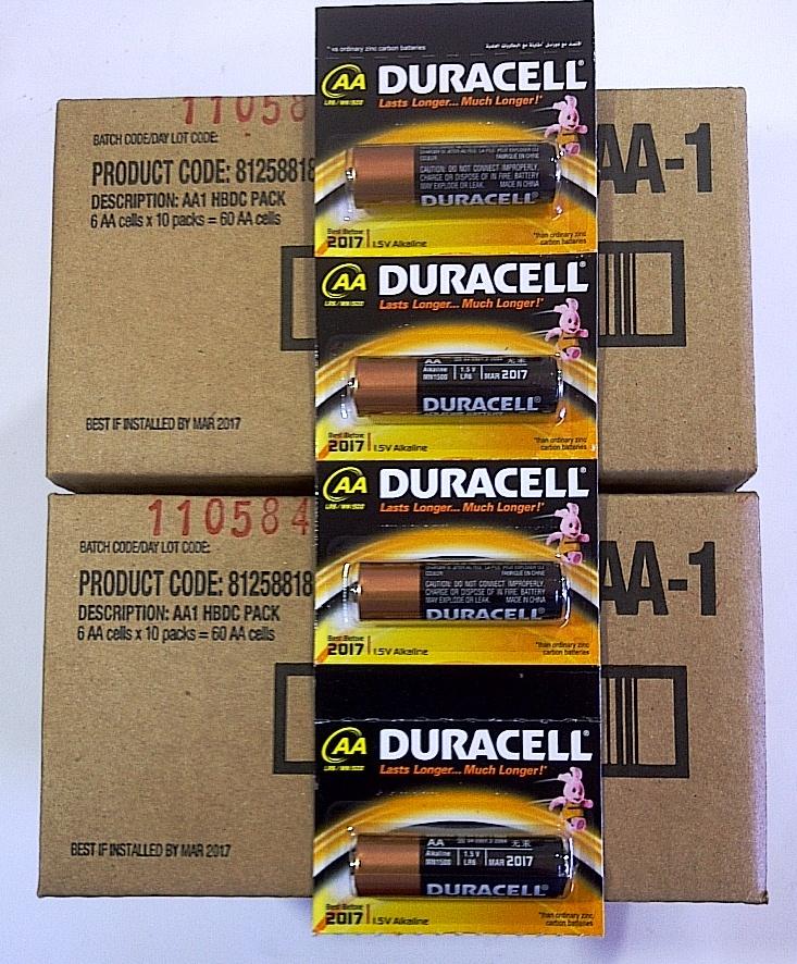 Duracell AA  BP-6 MN1500 (10cds)
