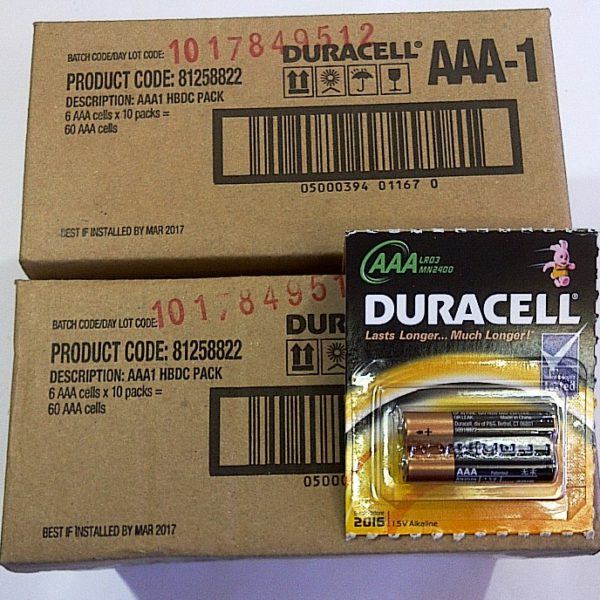 Duracell AAA  BP-6 MN2400 (10 cds)