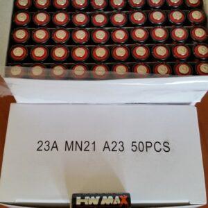 A23 12v Battery Bulk (50 pcs)