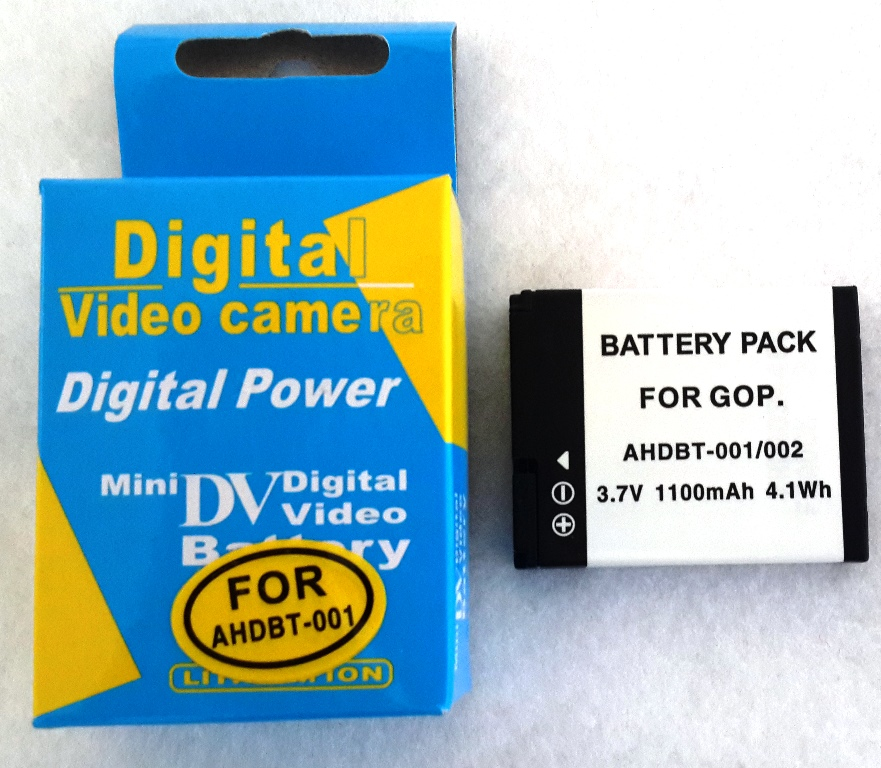 AHDBT-001/002 GoPro Replacement Battery