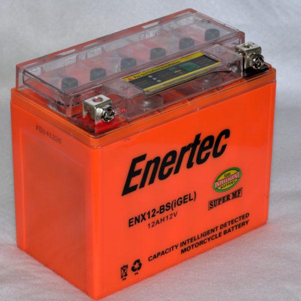 Enertec YTX12-BS GEL Motorcycle battery