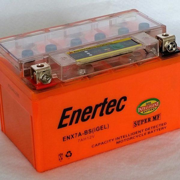 Enertec YTX7A-BS GEL Motorcycle battery