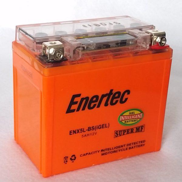 Enertec YTX5L-BS GEL Motorcycle battery
