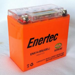 Enertec YTX14-BS GEL Motorcycle battery