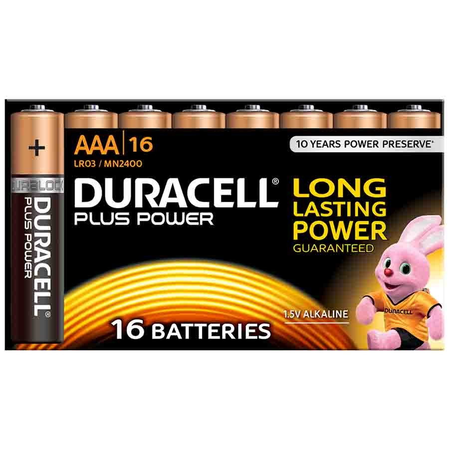 Alkaline Duracell PLUS AA BP-16 MN1500
